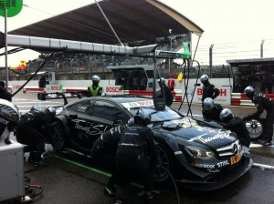 Pitstop of Garry Paffett